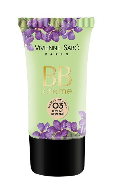 BB крем Vivienne Sabo Trois Oui Trois Non 03 (Цвет 03 variant_hex_name E9CAA9)
