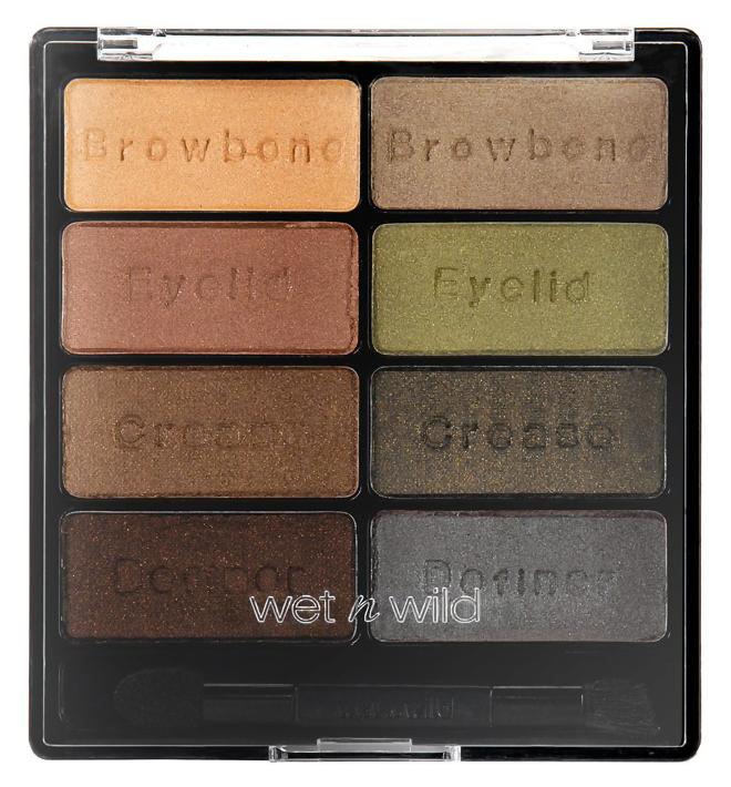 Тени для век Wet n Wild Color Icon Eyeshadow Collection 738 (Цвет 738 Comfort Zone variant_hex_name 9C8573)
