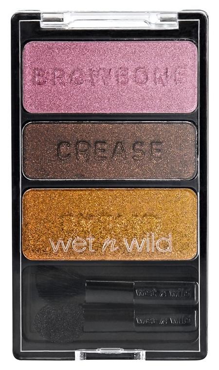 Тени для век Wet n Wild Color Icon Eyeshadow Trio 334 (Цвет 334 Im Getting Sunburned variant_hex_name C3916E)