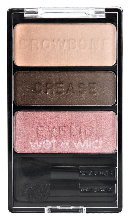 Для глаз Wet n Wild Color Icon Eyeshadow Trio 381B (Цвет 381B Sweet As Candy variant_hex_name 613A2B)
