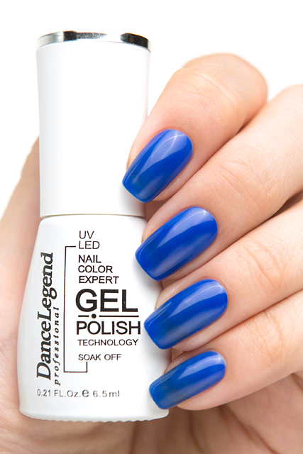 Лак для ногтей Dance Legend Gel Polish 028 (Цвет 028 Play the Blues variant_hex_name 23318A)