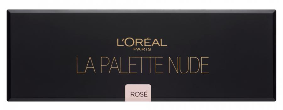 Для глаз LOreal Paris La Palette Nude Color Riche 001 (Цвет 001 Rose variant_hex_name E3CBC9)