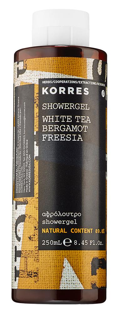 Гель для душа Korres White Tea Bergamot Freesia Shower Gel (Объем 250 мл)