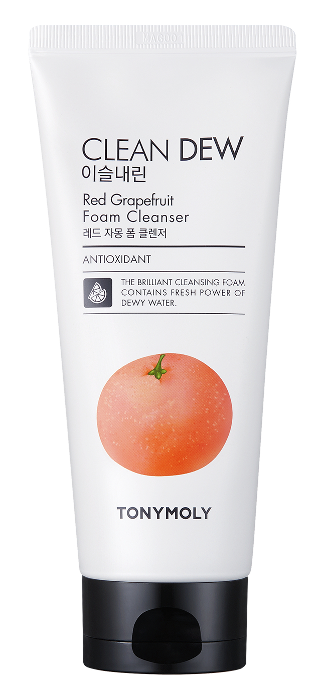 Пенка Tony Moly Clean Dew Red Grapefruit Foam Cleanser (Объем 180 мл)