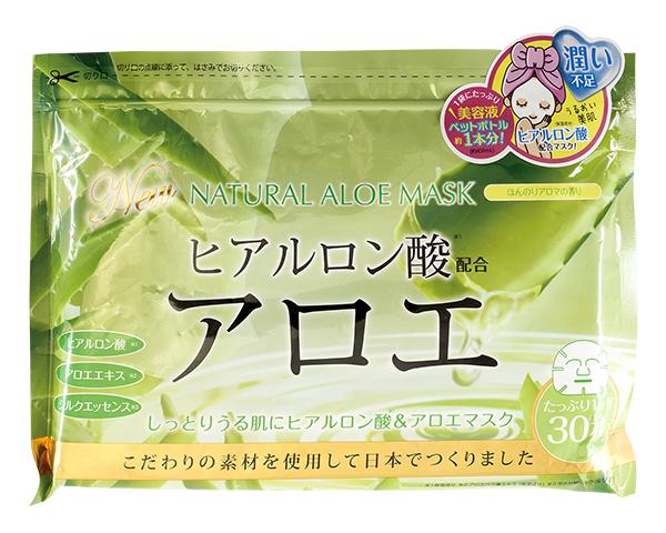 Тканевая маска Japan Gals Набор масок с экстрактом алоэ 30 шт.