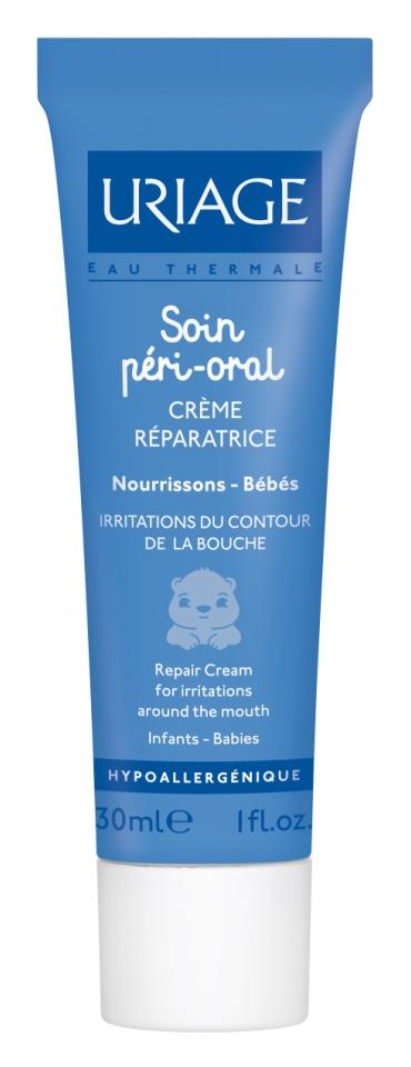 Глаза и губы Uriage Уход за губами Soin Peri-Oral Creme Reparatrice (Объем 30 мл)