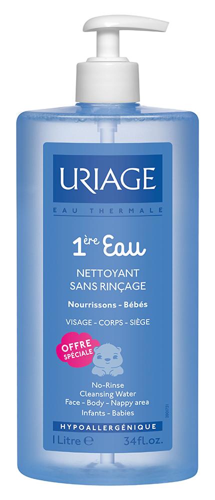 Снятие макияжа Uriage Вода очищающая Eau Nettoyant Sans Rincage (Объем 500 мл)