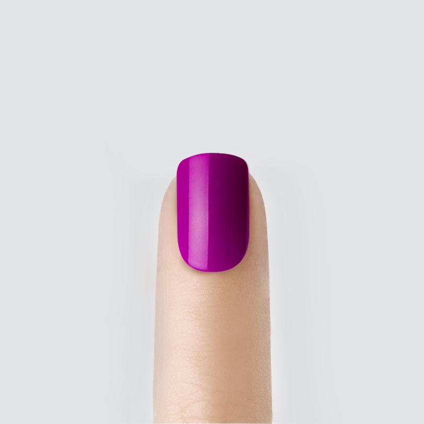 Лак для ногтей Kiss Твердый лак imPRESS. Short Length (Цвет BIP090 Рок-н-ролл variant_hex_name C844B2)