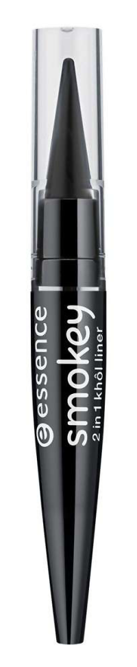 Купить Smokey 2 in 1 Khôll Liner 01 Smokey Black ESN-55997