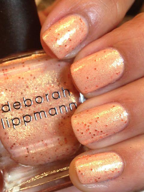 Лак для ногтей Deborah Lippmann Nail Color Shimmer Million Dollar Mermaid (Цвет Million Dollar Mermaid   variant_hex_name F3A26D)