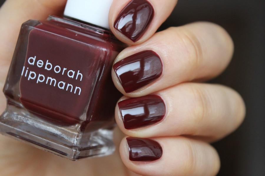 Лак для ногтей Deborah Lippmann Nail Color Creme Tainted Love (Цвет Tainted Love  variant_hex_name 4C1B1F)