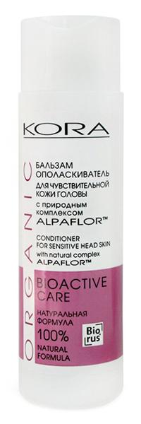 Бальзам и кондиционер Kora Бальзам-ополаскиватель для чувствительной кожи головы (Объем 250 мл)