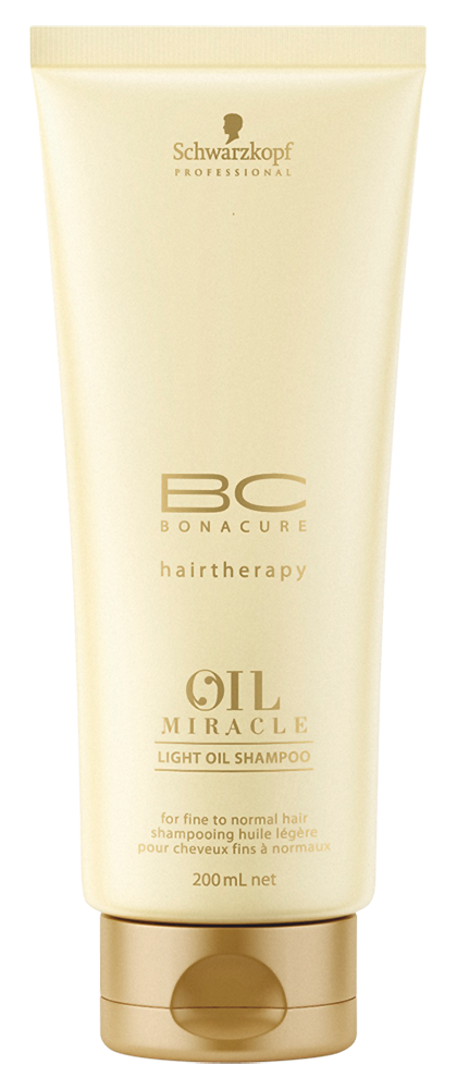 Шампунь Bonacure Oil Miracle Light Shampoo (Объем 200 мл)
