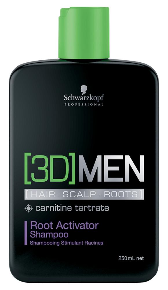 Шампунь Bonacure [3D]MEN Root Activator Shampoo (Объем 250 мл)