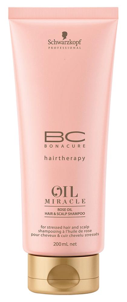 Шампунь Bonacure Oil Miracle Rose Oil Hair  Scalp Shampoo (Объем 200 мл)