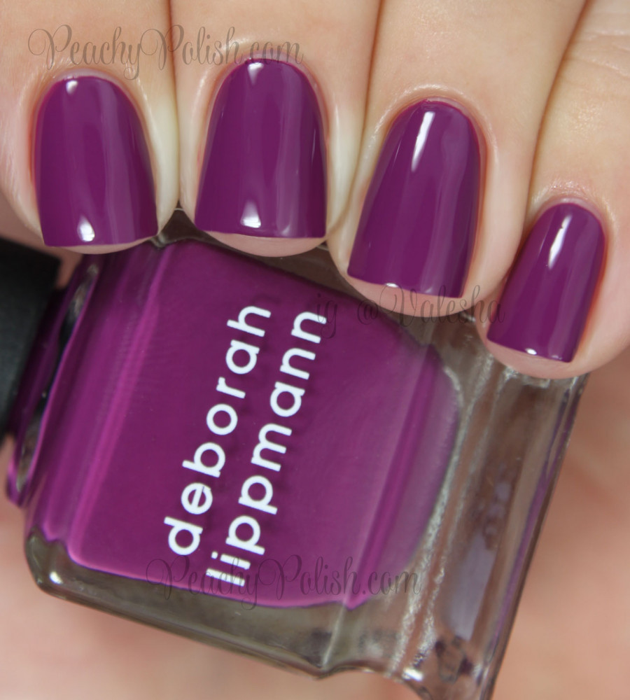 Лак для ногтей Deborah Lippmann Creme Nail Polish Drunk In Love (Цвет Drunk In Love variant_hex_name 6A2750)