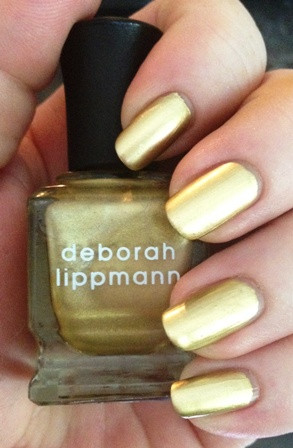 Лаки для ногтей с эффектами Deborah Lippmann New York Marquee Collection Autumn in New York (Цвет Autumn in New York variant_hex_name DDBF8D)