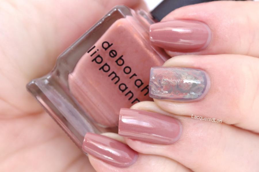 Лак для ногтей Deborah Lippmann Shimmer Nail Polish Earth Angel (Цвет Earth Angel variant_hex_name B9706A)