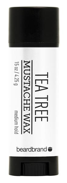 Борода и усы Beardbrand Воск для усов и бороды Tee Tree Mustache Wax (Объем 4.25 г)