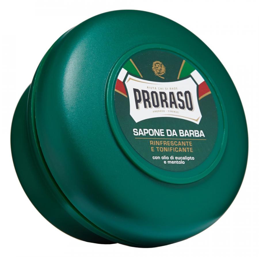 Для бритья Proraso Shaving Soap In A Bowl - Refreshing and Toning Formula (Объем 150 мл)