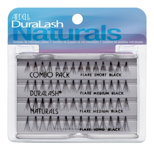 Накладные ресницы Ardell Duralash Naturals Knot-Free Flairs Combo Pack Black