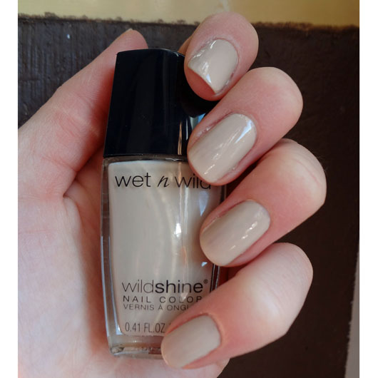 Лак для ногтей Wet n Wild Wild Shine Nail Color E458C (Цвет E458c Yo Soy variant_hex_name CBB7B8)