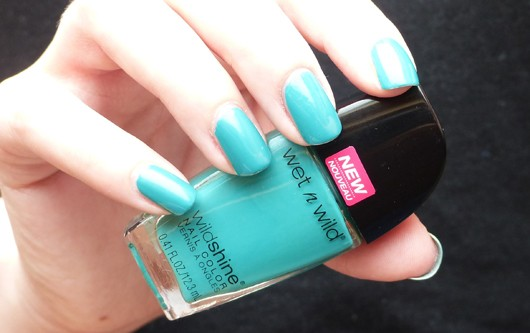 Лак для ногтей Wet n Wild Wild Shine Nail Color E483d (Цвет E483d Be More Pacific variant_hex_name 37AD9F)