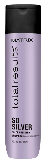 Шампунь Matrix Total Results Color Obsessed So Silver Shampoo (Объем 300 мл)