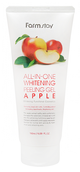 Купить All-In-One Whitening Apple Peeling Gel 180 мл FMS-8809317284767