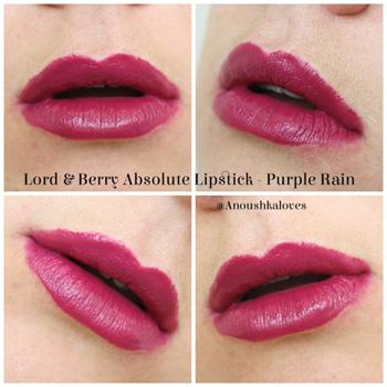 Помада Lord  Berry Absolute Intensity Lipstick 7417 (Цвет 7417 Purple Rain variant_hex_name 671E30)
