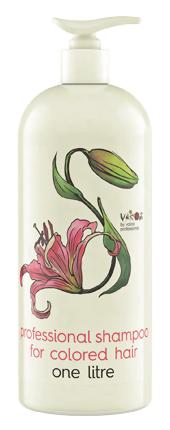 Шампунь Valentina Kostina Шампунь для окрашенных волос Vakos Professional (Объем 1000 мл)