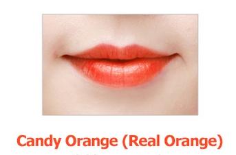 Тинт для губ Berrisom Oops! My Lip Tint Pack Candy Orange (Цвет Candy Orange variant_hex_name F79505)