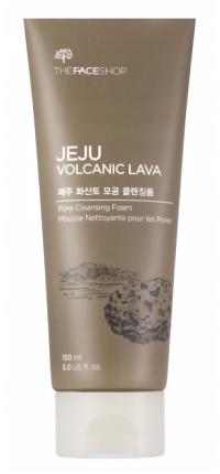 Пенка The Face Shop Jeju Volcanic Lava Pore Cleansing Foam (Объем 150 мл)