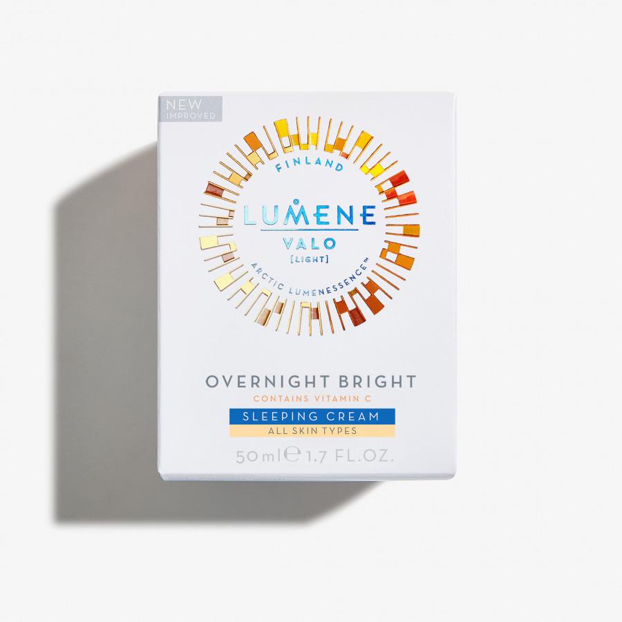 Ночной уход Lumene Valo Overnight Bright Vitamin C Sleeping Cream (Объем 50 мл)