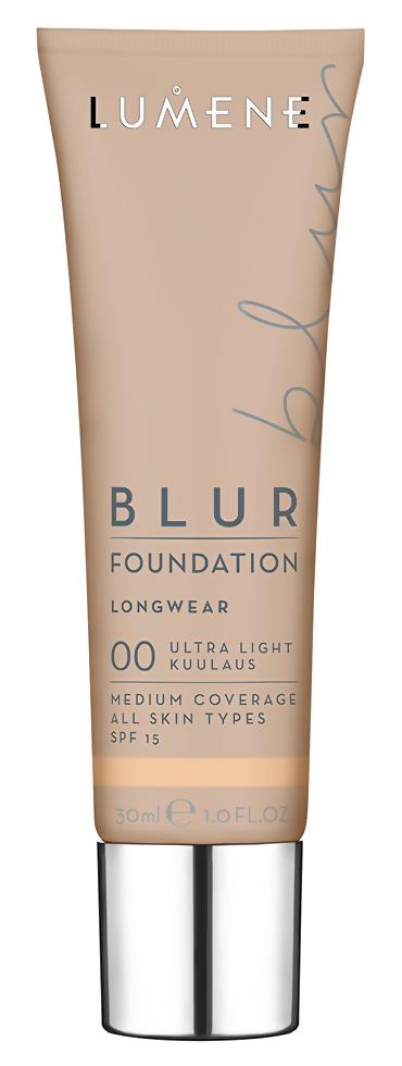 Тональная основа Lumene Blur Foundation Longwear SPF 15 00 (Цвет 00 Ultra Light variant_hex_name F3C9A1)