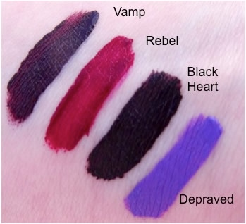 Жидкая помада Makeup Revolution Salvation Velvet Lip Lacquer Black Heart (Цвет Black Heart  variant_hex_name 3A2628)