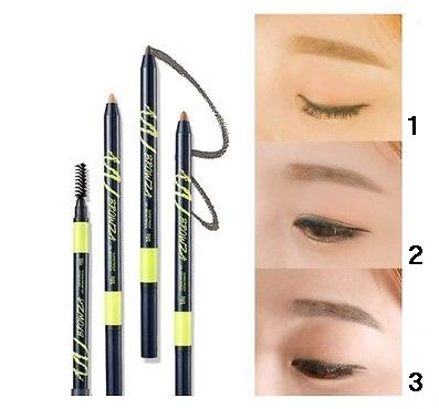 Карандаш для бровей Touch in Sol Browza Super Proof Gel Brow Pencil 3 (Цвет 3 Mink Wink variant_hex_name 573120)