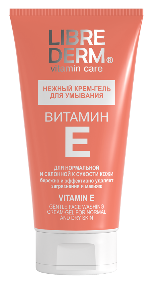 Гель Librederm Витамин Е. Нежный крем-гель для умывания (Объем 150 мл)