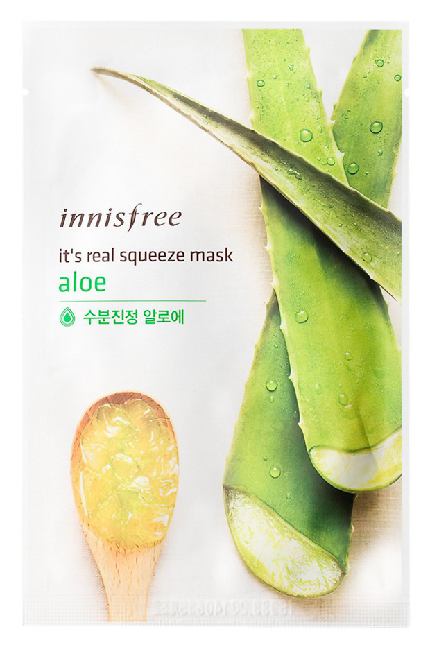 Купить It's Real Squeeze Mask Aloe 20 мл INS-8806173524761