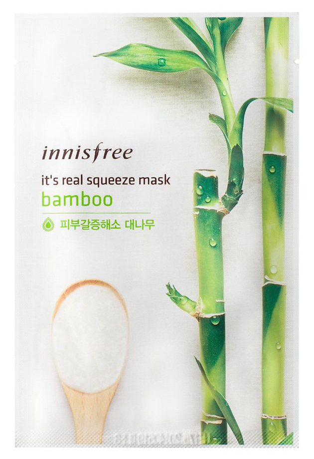 Купить It's Real Squeeze Mask Bamboo 20 мл INS-8806173524754