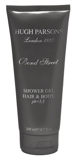 Гель для душа Hugh Parsons Bond Street Hair  Body Shower Gel (Объем 200 мл)