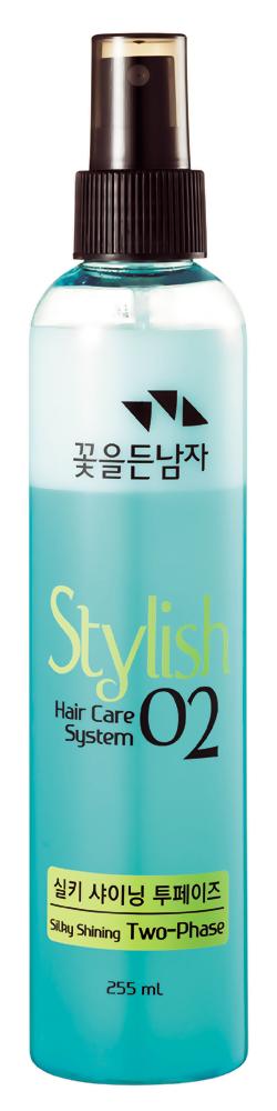 Термозащита Flor de Man Hair Care System Hair Silky Shining Two-Phase (Объем 255 мл)