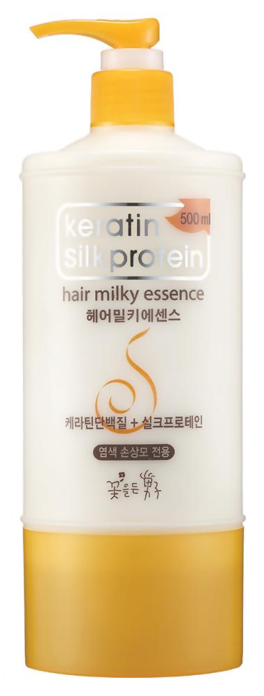 Бальзам Flor de Man Keratin Silkprotein Hair Milky Essence (Объем 500 мл)