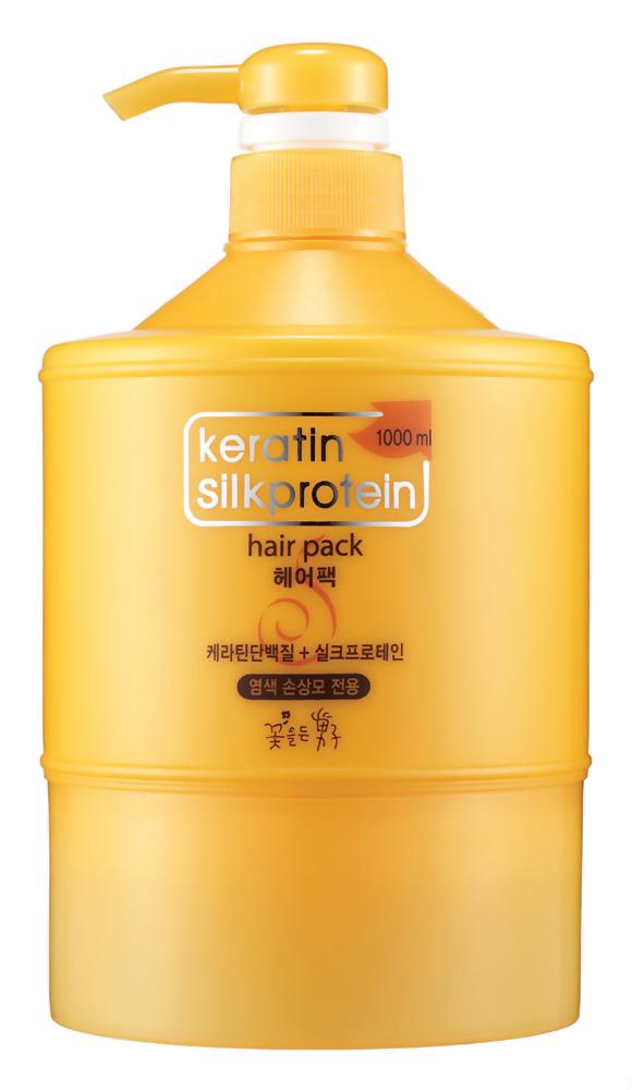 Маска Flor de Man Keratin Silkprotein Hair Pack (Объем 1000 мл)