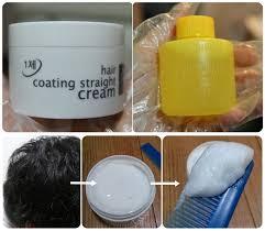 Стайлинг Flor de Man Крем для выпрямления Hair Coating Straight Cream (Объем 110 г+100 мл)