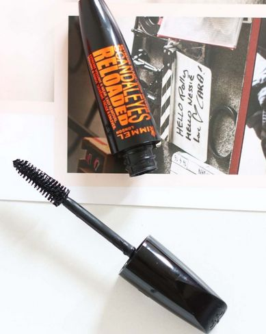 Тушь для ресниц Rimmel Scandaleyes Reloaded Extreme Black Mascara 003 (Цвет 003 Extreme Black variant_hex_name 000000)