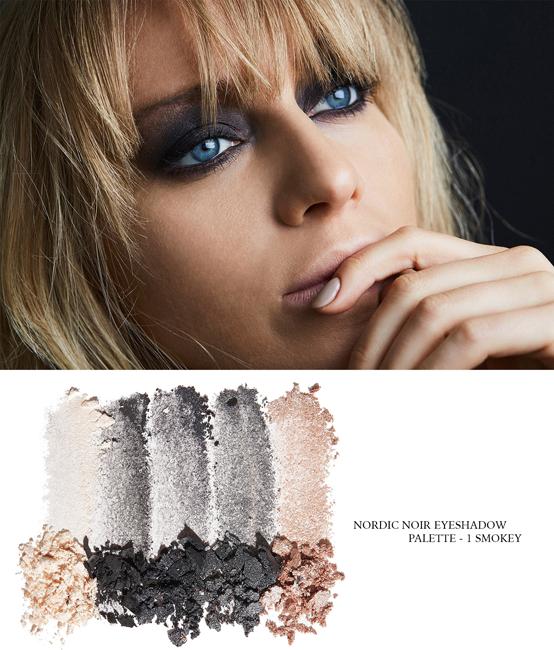 Для глаз Lumene Nordic Noir Eyeshadow Palette Smokey (Цвет Smokey variant_hex_name 4E5862)
