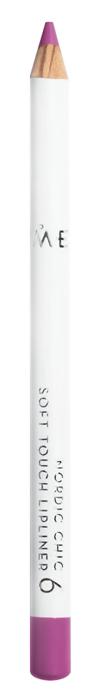 Карандаш для губ Lumene Nordic Chic Soft Touch Lipliner 6 (Цвет 6 variant_hex_name BC4A88)