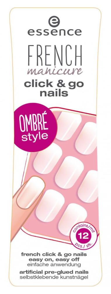 Купить Накладные ногти French Click & Go Nails 03 Girls Just Wanna Have Fun! ESN-59355