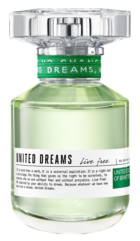Туалетная вода United Colors of Benetton United Dreams Live Free (Объем 50 мл)